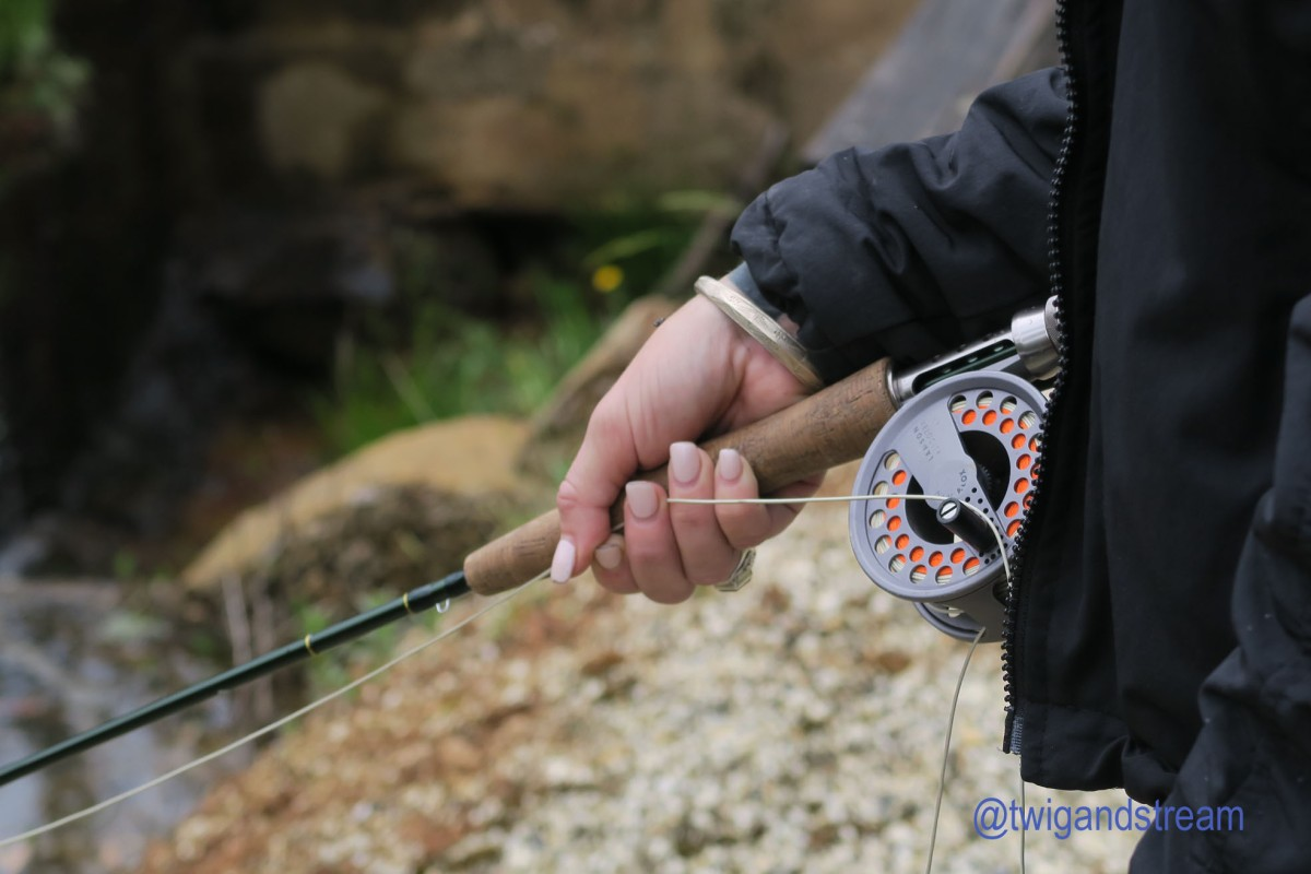 Five ways to hold a fly rod.