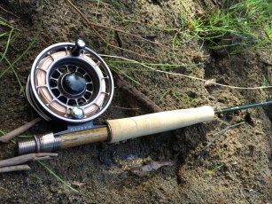 Sage Dart Fly Rod 476-3 paired with Harfin LR78F