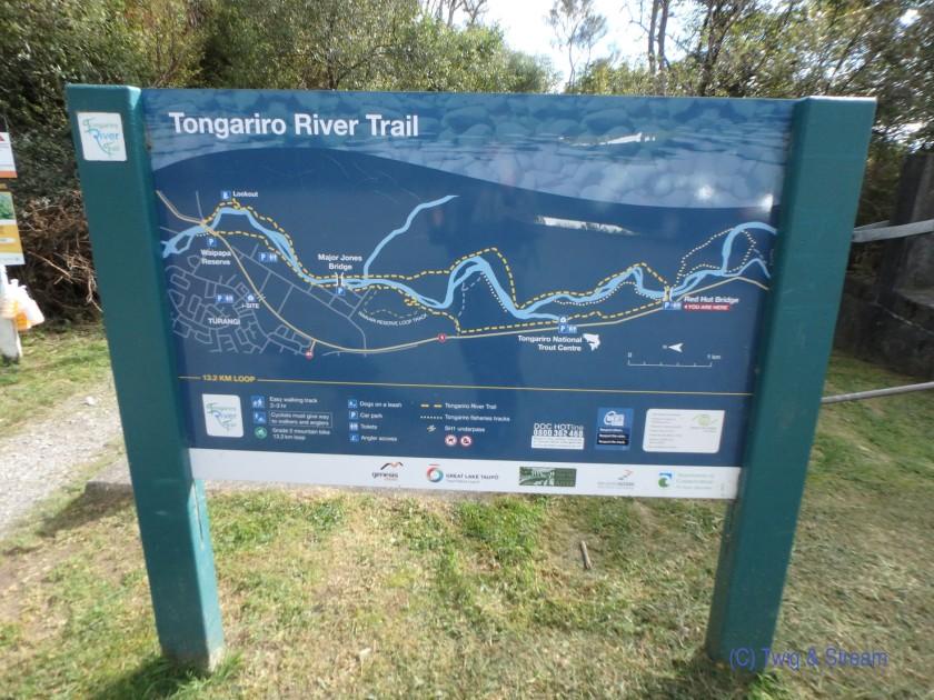 Tongariro Trail Map