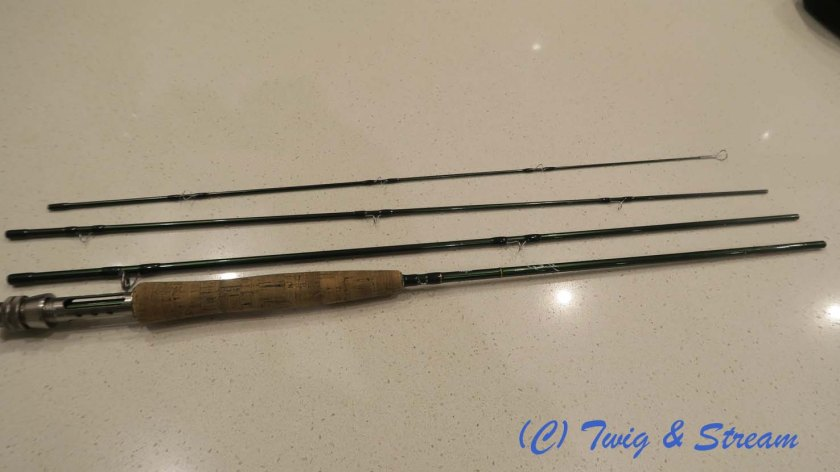 Fly Fishing Rod all fixed with new tip guide.